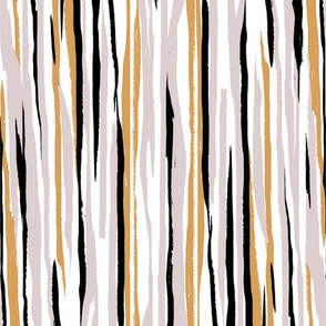 Painted Stripe - White