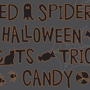 Halloween Embroidery Stitches