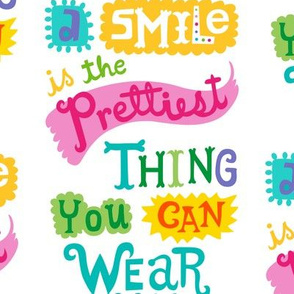 smile is the prettiest