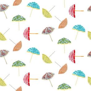 Beachy Umbrellas