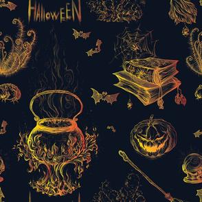 Halloween in Orange