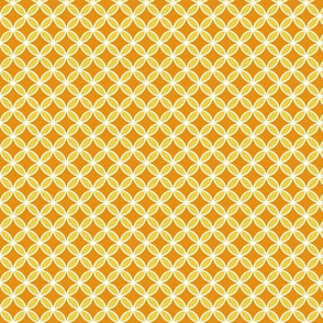 Orange and Yellow Geometric Butterfly Pattern for Halloween