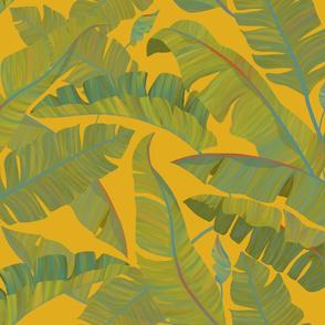 Banana Leaves mustard