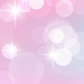 Large Magical Bokeh and Sparkles Pattern in Mermaid Colors