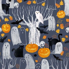 crewel creatures and stitchable spooks