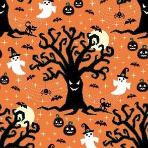 happy spooky halloween ★ orange