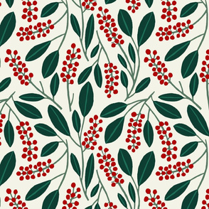 "POKEBERRY 12"" red green white"