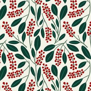 "POKEBERRY 12"" red green white"