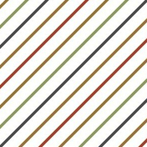 Retro Candy Cane stripe-4x4