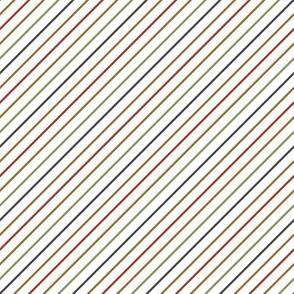 Retro Candy Cane stripe-2x2