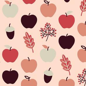 Apfelchen  beige 142 cm