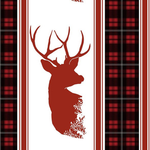 Double Stag - Lodge Plaid