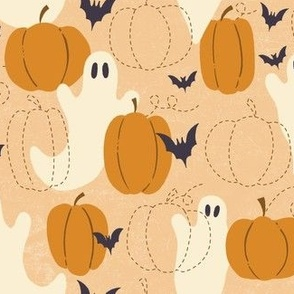 Ghosts, Bats, and Pumpkins, Oh My!