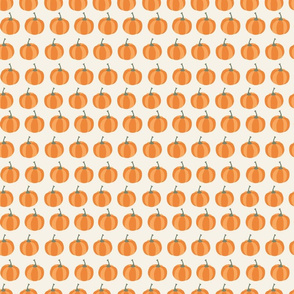 orange pumpkin pattern
