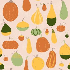 Crafty Pumpkins - fall gourds and pumpkins