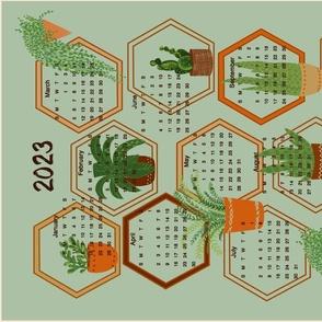 2020 calendar tea towel