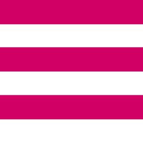Larger Friendly Stripes. Pink