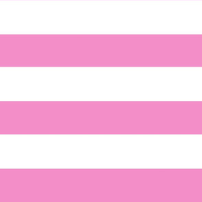 Friendly Stripes. Pink  And white