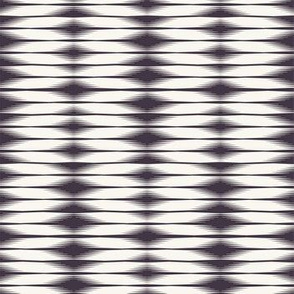 Seamless vector pattern. Modern geometric hand drawn woven tie dye style.