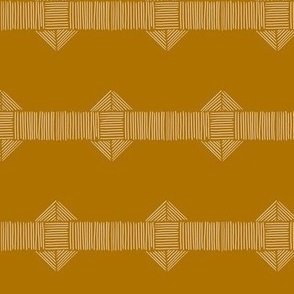 Rust Boho Stripe