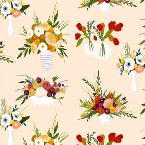 Vintage Vase Blooms