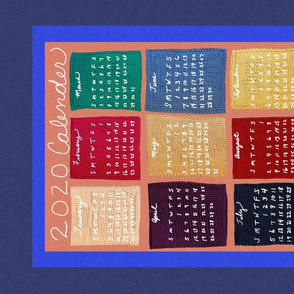 2020 Knitted Themed Tea Towel