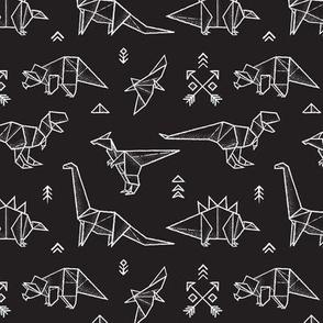 Small origami dinos