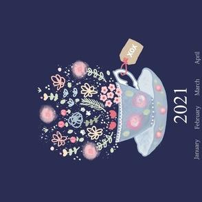 Tea Time 2020 Tea Towel Calendar