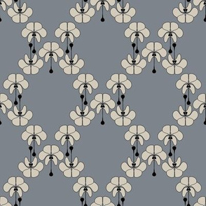 Art Deco Design Grey