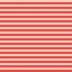 Spooky Stripes red/pink