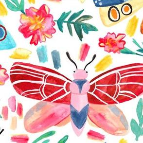 Moth Confetti - Large Scale