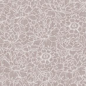 Little garden blue purple shades