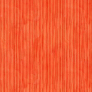 Rough watercolour stripes orange