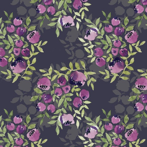 Secret Garden-Purple