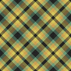 Custom Autumn Woodland Plaid