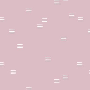 Minimal mudcloth stripes bohemian mayan abstract indian summer love aztec design mauve dusty pink