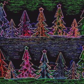 Neon Christmas Wonderland