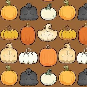 Pumpkins and Pug Butts - milk chocolate