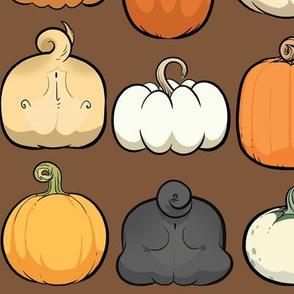 Pumpkins and Pug Butts - chocolate