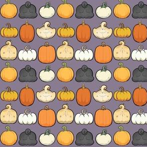 Pumpkins and Pug Butts - shadow