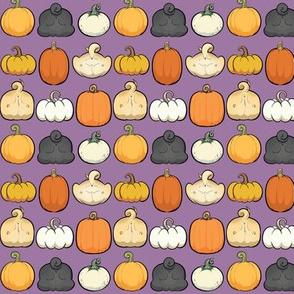 Pumpkins and Pug Butts - purple