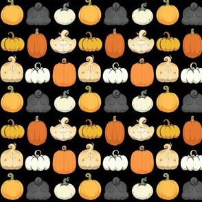 Pumpkins and Pug Butts - midnight
