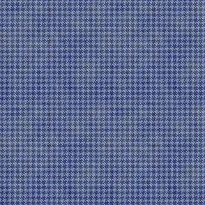 Blue Grunge Houndstooth ©Julee Wood