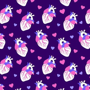 Take My Heart on Dark Purple