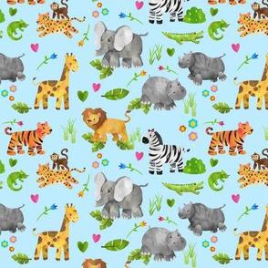 Safari 1 Blue Very Small