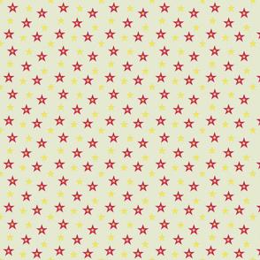 Red and Yellow Stars (medium)