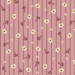 Tiny Magnolias on Pink (2)