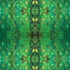 Yummy green and gold grunge