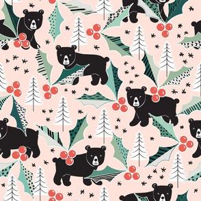 Holly Berry Bears