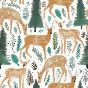 Winter forest dream
